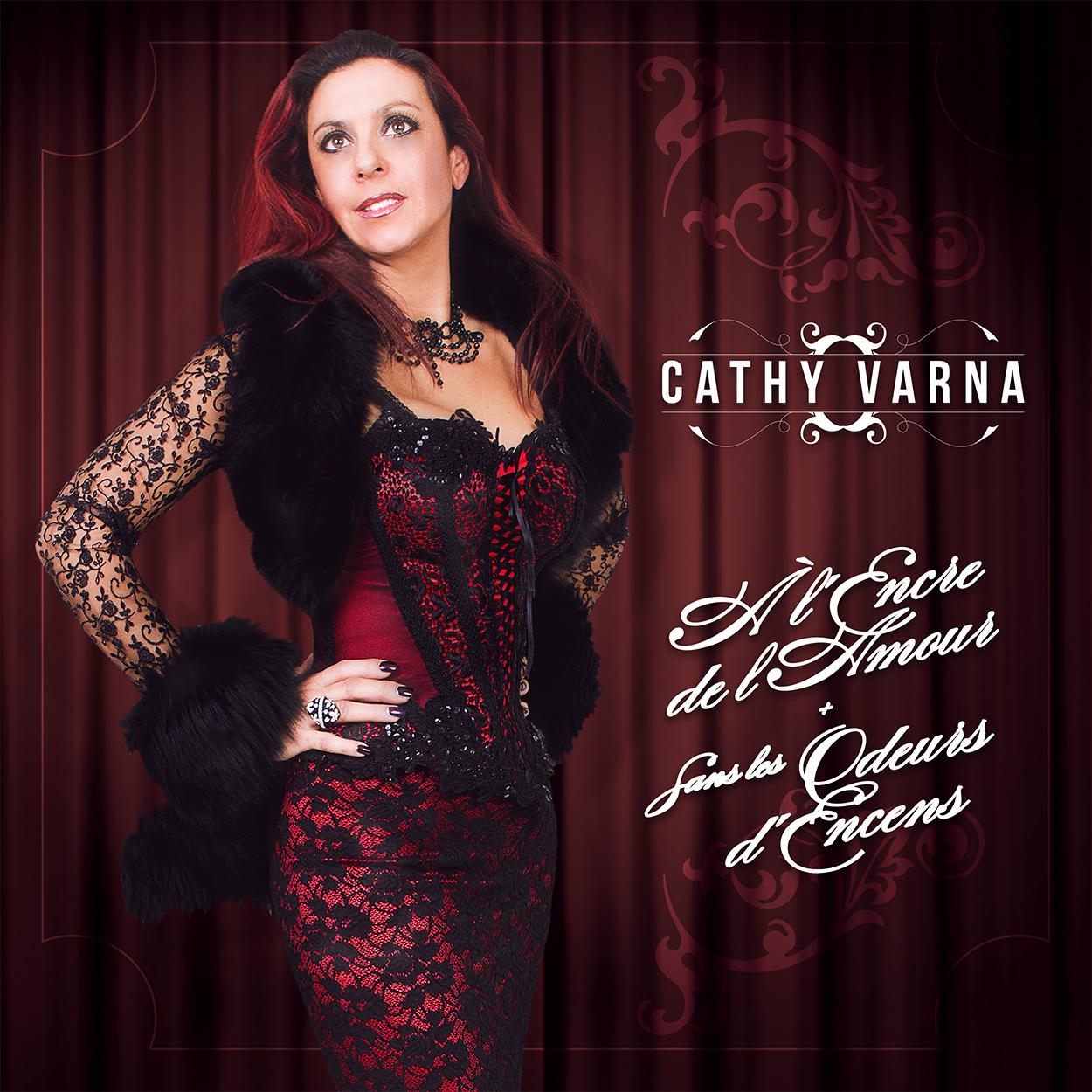 """CATHY VARNA  -  """" A l'encre de l'amour """" et  """" Sans les odeurs d'encens """""""