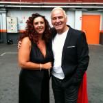 Avec Michel Fugain