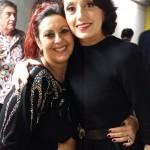 Avec Luz Casal